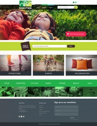 Website Design and Development, Rangitikei Tourism Website